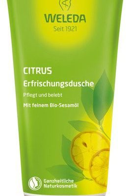 Weleda Body Care cytrusowy krem pod prysznic Creamy Body Wash) 200 ml