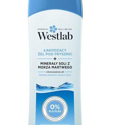 Westlab Łagodzący żel pod prysznic Westlab z minerałami soli z Morza Martwego - 400 ml