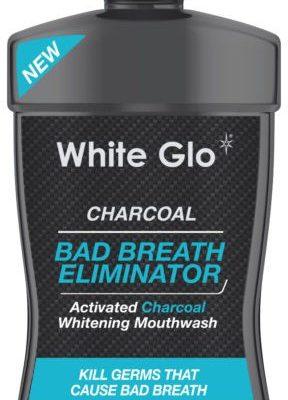 White Glo WĘGLOWY PŁYN DO PŁUKANIA ELIMINATOR NIE ŚWIEŻEGO ZAPACHU 500ML