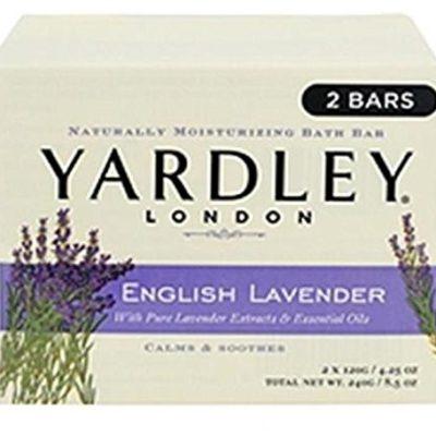 Yardley ENGLISH Lavender Bar Soap (bloku mydło) U-BB-1556
