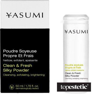 Yasumi Yasumi Clean & Fresh Silky Powder Oczyszczający proszek do twarzy 50 ml