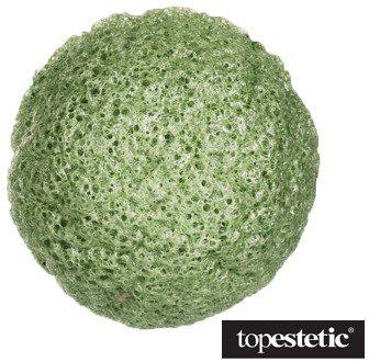 Yasumi Yasumi Green Tea Konjac Sponge S Gąbka konjac do mycia twarzy z zieloną herbatą