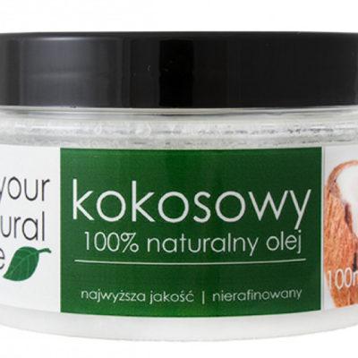 Your Natural Side 100% naturalny olej kokosowy - Nierafinowany YOUNOKNI