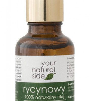 Your Natural Side 100% naturalny olej rycynowy - Nierafinowany YOUNORNI
