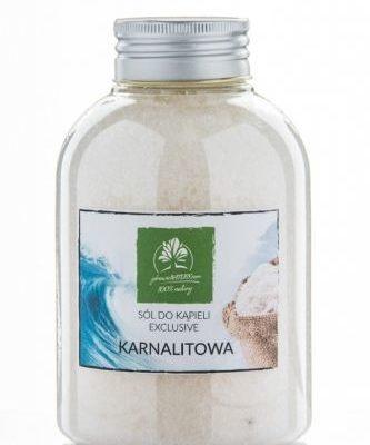 Zdrowie natury Sól Karnalitowa do kąpieli z Morza martwego - butelka 550 g SKB5