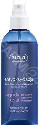 Ziaja Jagody Acai tonik z kwasem hialuronowym spray 200 ml