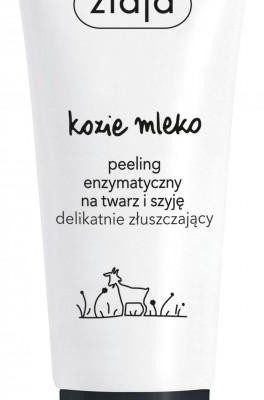 Ziaja Kozie Mleko peeling enzymatyczny na twarz i szyję delikatnie złuszczający 75ml