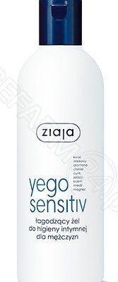 Ziaja Yego Sensitiv łagodzący żel do higieny intymnej dla mężczyzn 300 ml