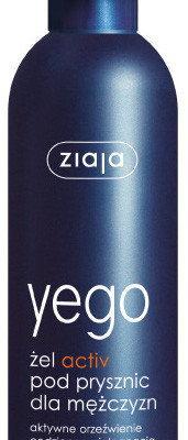 Ziaja yego żel aktiv pod prysznic dla mężczyzn- 300 ml 7034955