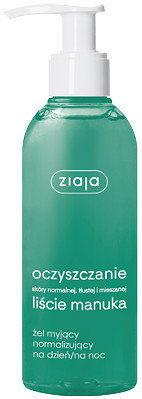 Ziaja ZIAJA oczyszczanie - liście manuka Żel myjący normalizujący na dzień na noc 200 ml