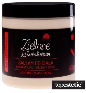 Zielone Laboratorium Zielone Laboratorium Balsam Do Ciała Poprawiający Koloryt Skóry Pomidor i Marchewka 250 ml