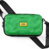 Crash Baggage Kosmetyczka Mini Icon z paskiem na ramię zielona