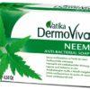 Dabur Vatika DermoViva Neem Soap Antybakteryjne mydło z wyciągiem z neem 115g 5022496005289