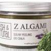 fresh&natural Solny peeling do ciała Z ALGAMI 550g Fresh&Natural