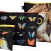 Loqi Saszetki National Geographic sowa, motyle i pingwiny 3 szt. ZP.NG.OP