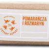 Mydlarnia Cztery Szpaki Cztery Szpaki Mydło naturalne Pomarańcza i Rozmaryn 110g