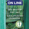 On Line Relaks 800 g Sól do stóp eukaliptusowa On Line