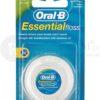 Oral-B ORAL-B EssentialFloss 50m nić dentystyczna woskowana o smaku miętowym E029