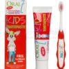 ORAL7 ORAL7 KIDS 75ml - pasta dla dzieci zawierająca kompleks enzymów dla utrzymania naturalnej flory bakteryjnej jamy ustnej + szczoteczka do zębów!