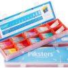 Piksters PIKSTERS PREMIUM PACK gabinetowy zestaw szczoteczek międzyzębowych - 320 sztuk + 20 uchwytów