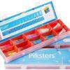 Piksters PIKSTERS STARTER PACK gabinetowy zestaw szczoteczek międzyzębowych - 120 sztuk + 10 uchwytów