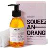 Veoli Botianica Olejek 2w1 do demakijażu i masażu twarzy z kawałkami pomarańczy SQUEEZE AN ORANGE 132,7g Veoli Botanica