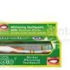 White Glo Barros Laboratories Hebral Whitening 100ml - wybielająco-ziołowa pasta do zębów z minerałami + szczoteczka do zębów